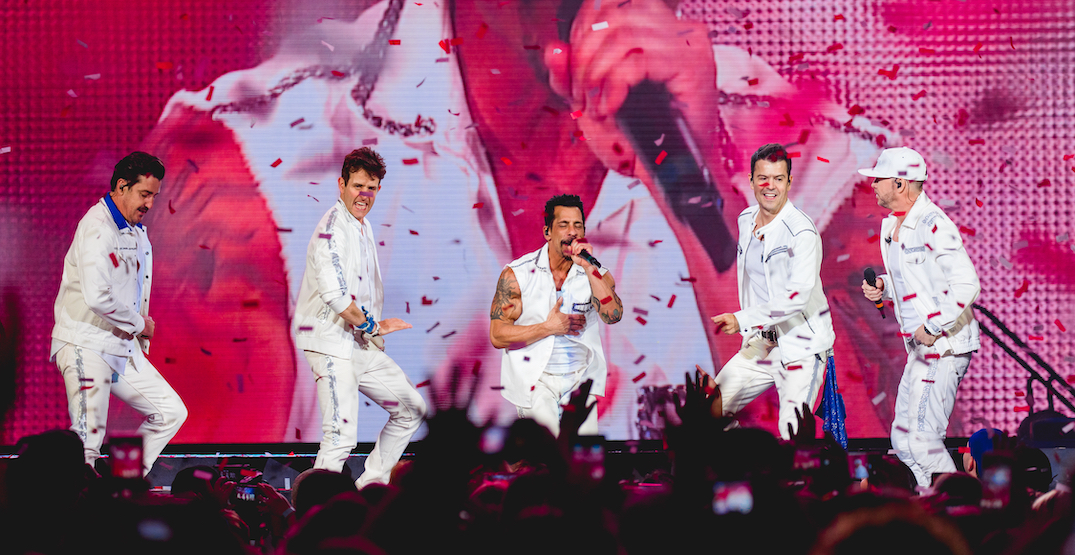 New Kids On The Block announce tour date for Toronto concert