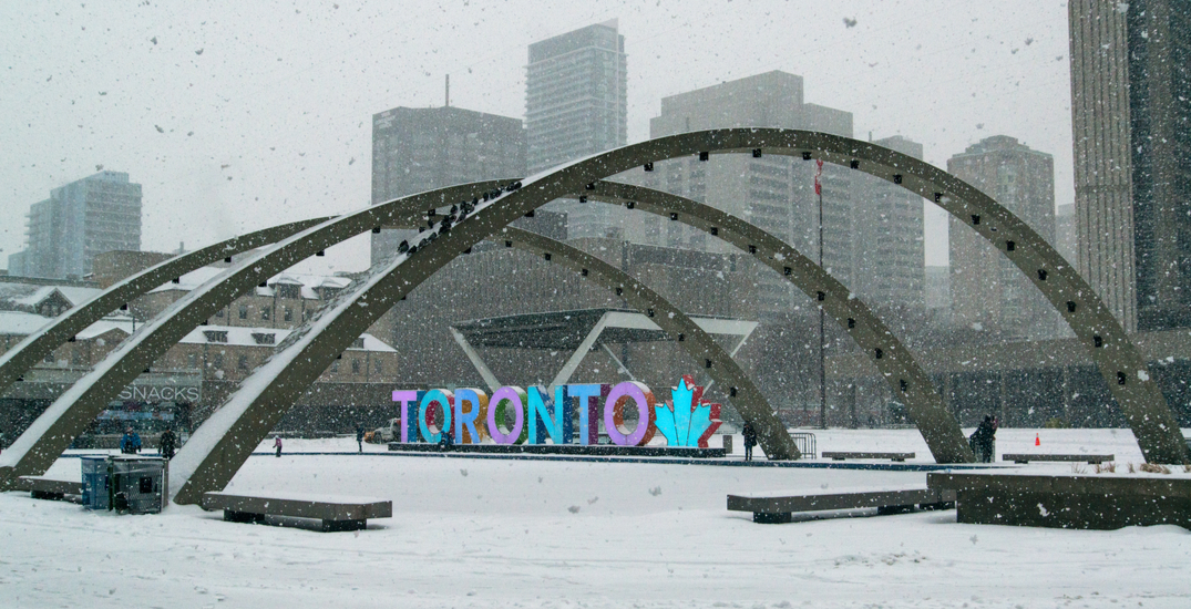Here's when Toronto could see its first snowfall of the season
