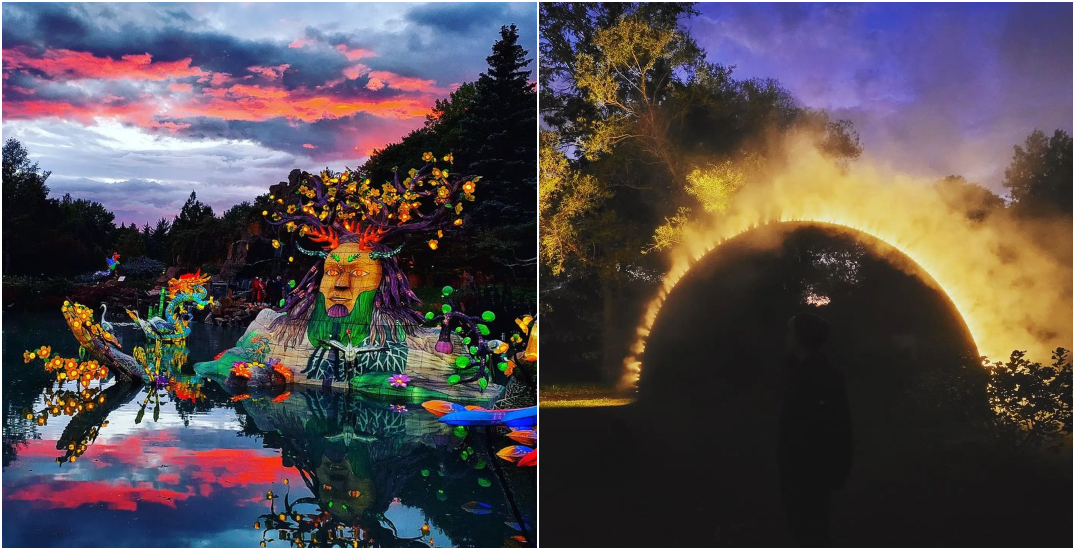 This year's Gardens of Light festival in Montreal is seriously mesmerizing (PHOTOS)