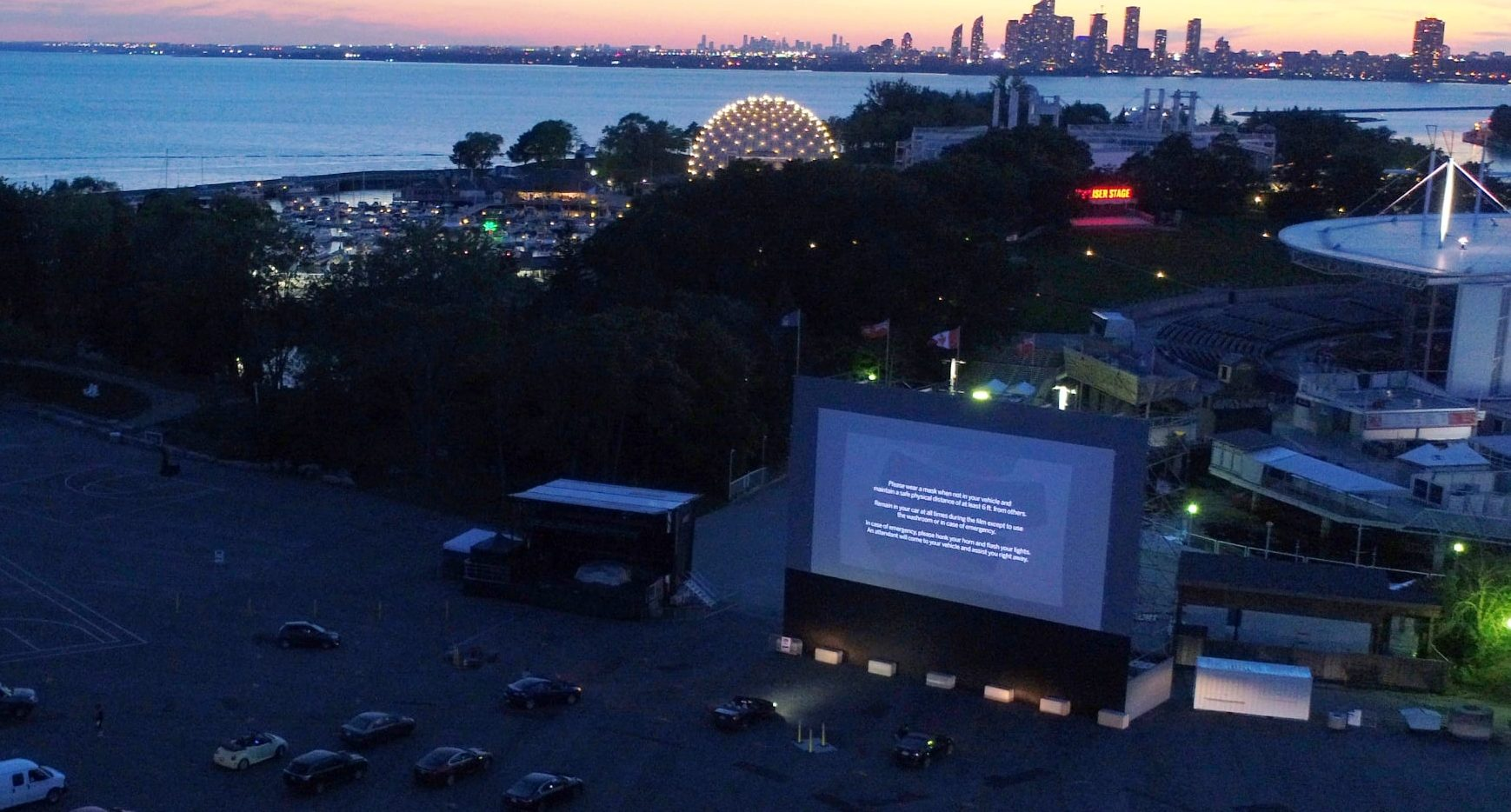 Ontario Place has a haunted drive-in movie experience for spooky season
