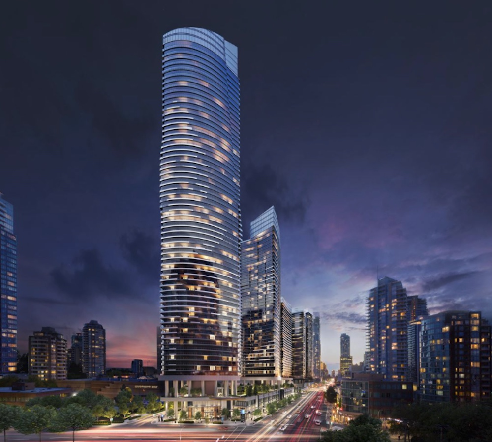 concord metrotown first phase rendering