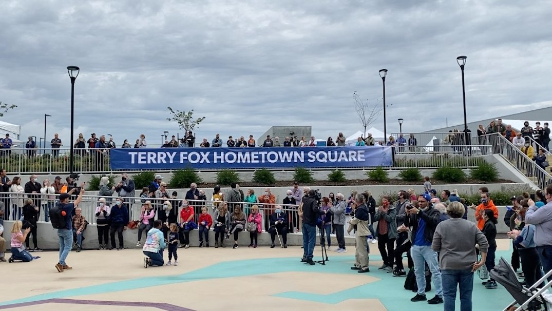 terry fox hometown square port coquitlam community centre
