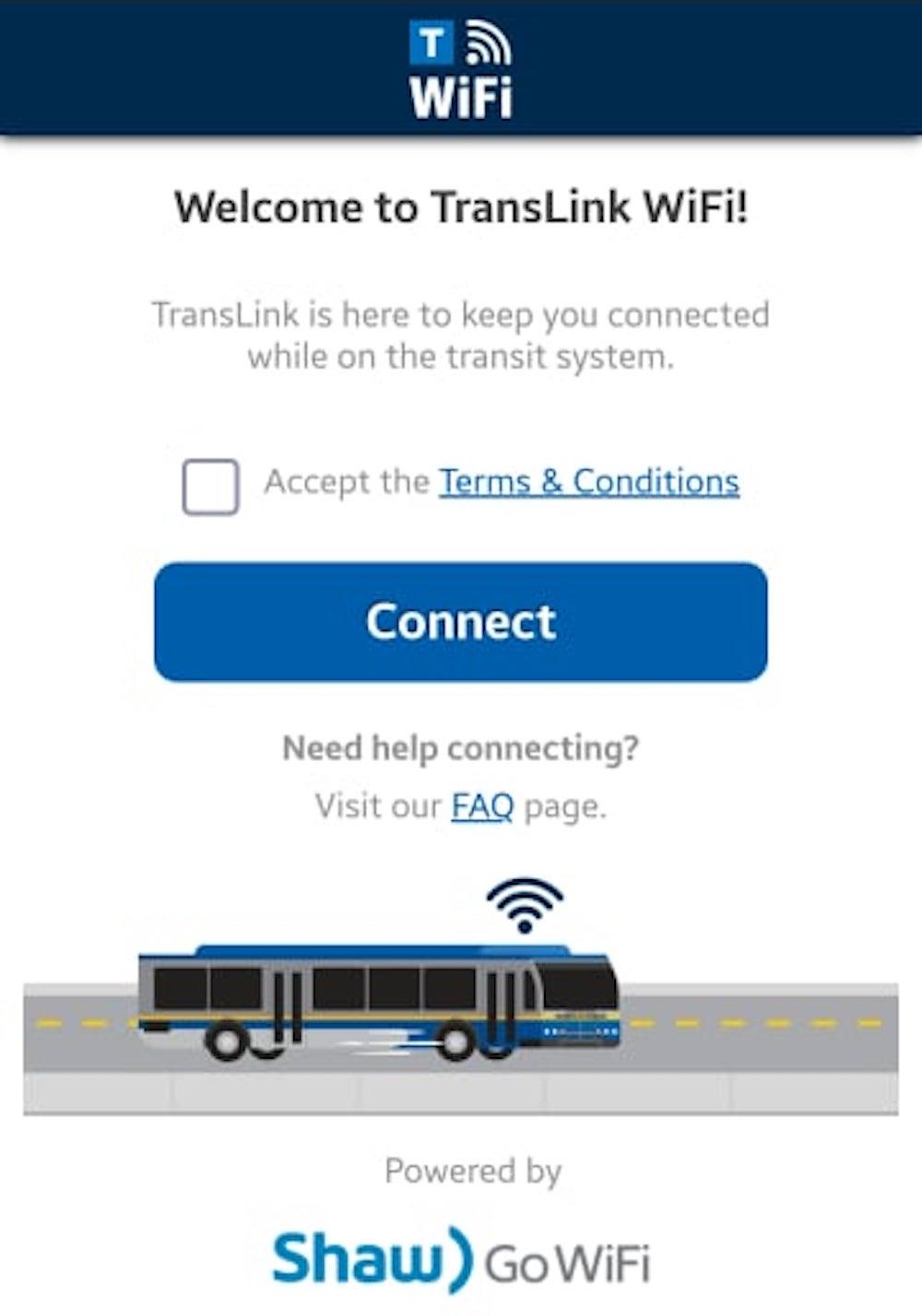 translink wifi shaw