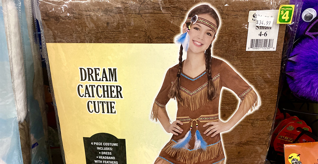 Dollarama criticized for selling offensive Indigenous-themed Halloween costume