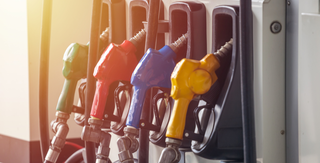 Gas prices continue to rise across Canada into the Thanksgiving long weekend
