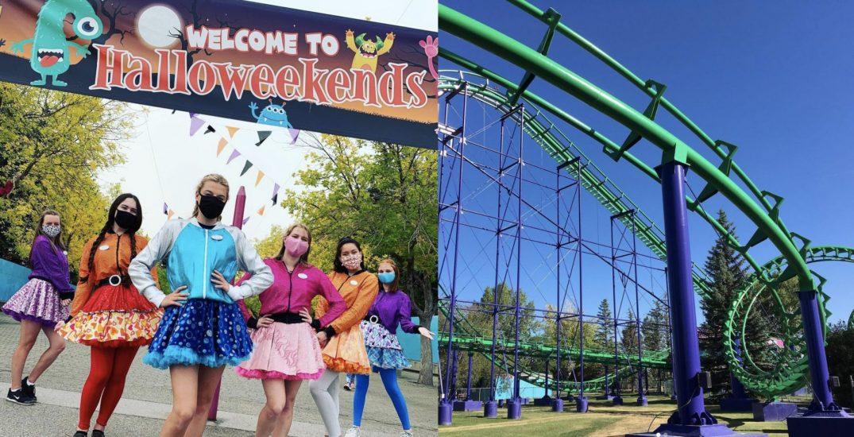 Enjoy spooktacular Halloween fun at a Calgary amusement park this weekend