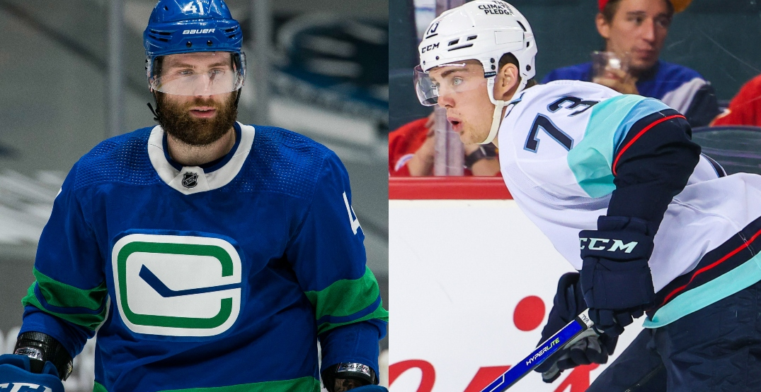 Gadjovich and Lind on waivers as part of Canucks, Kraken cuts