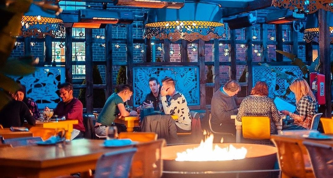 15 outdoor heated patios to stay warm this fall in Toronto