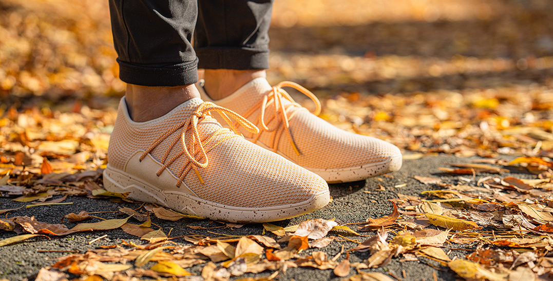 Pumpkin spice everything: Vessi releases fall-themed PSL sneaker