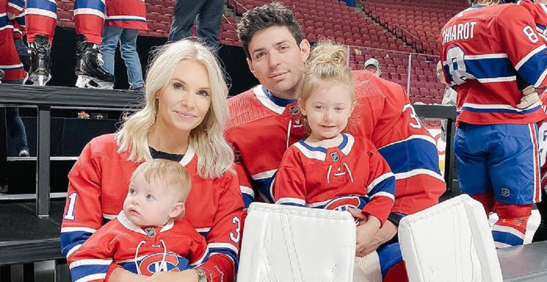 Carey Price's wife Angela shares caring note after he joins NHL assistance program