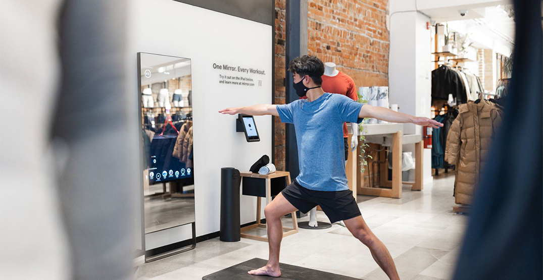 Lululemon launches Mirror home workout tool in Canada