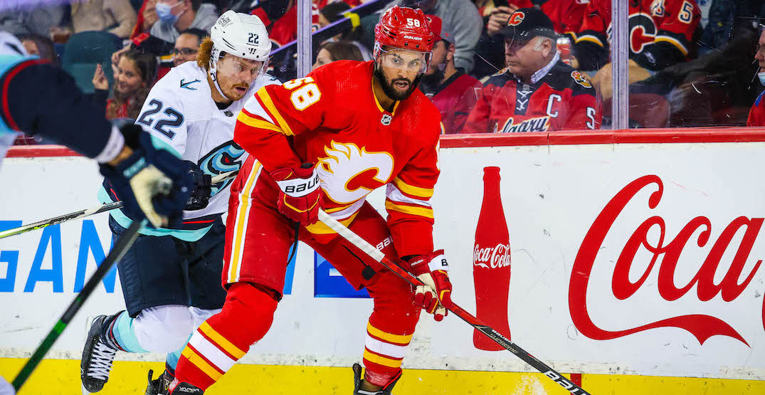 Flames approaching fork in the road on defenceman Oliver Kylington