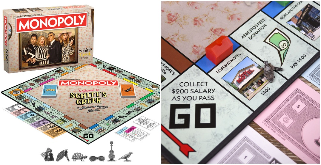 Oh Schitt: A Schitt's Creek Monopoly edition is out and it's perfect