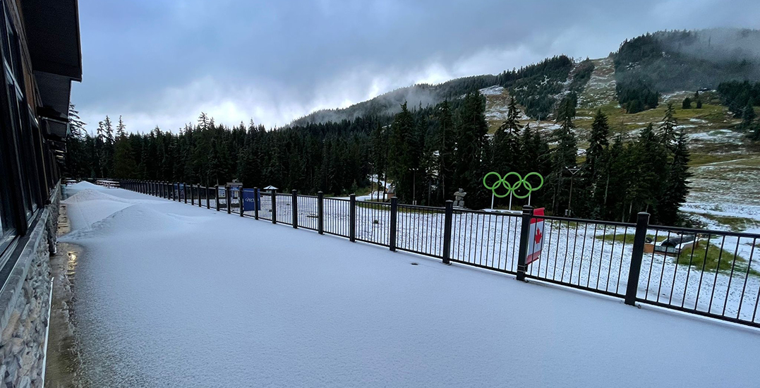 Winter is coming: Cypress Mountain records first snowfall of the season