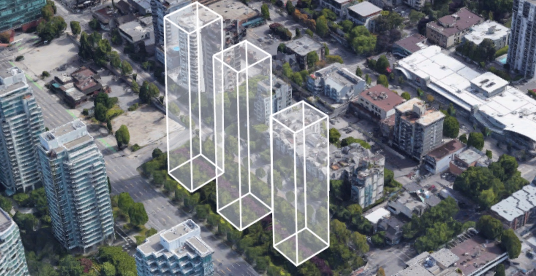 Towers pitched for downtown West End strata block to maximize windfall value