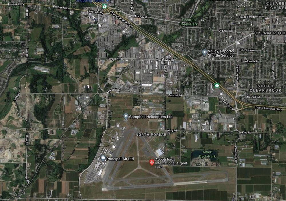 abbotsford international airport yxx