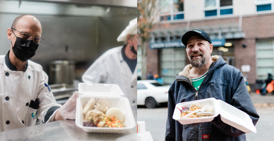 A charity is serving 1,200 lbs of turkey in Vancouver's DTES this weekend