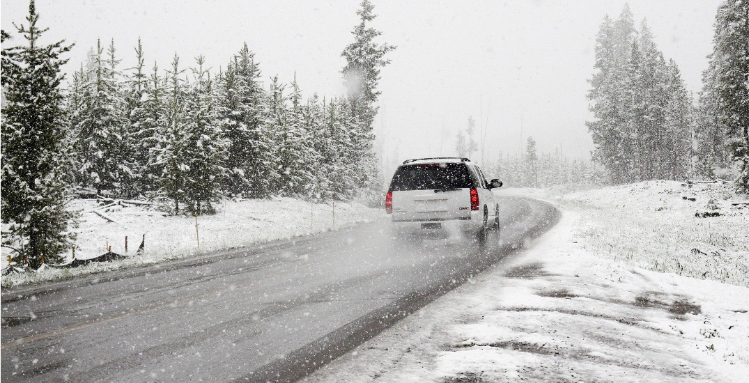 Southern BC highways to be hit by up to 10cm of snow on Sunday