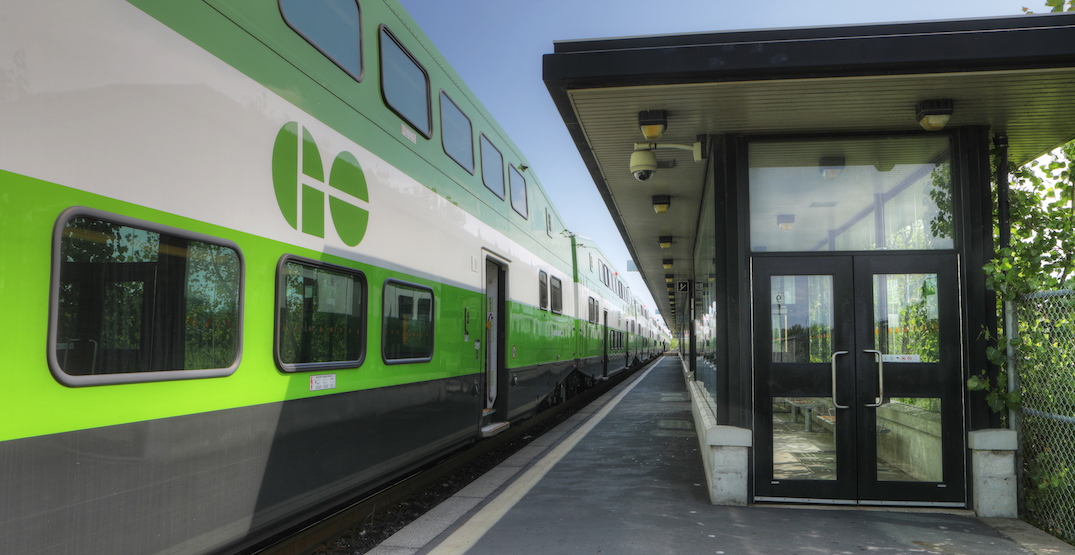 GO Transit is now giving refunds for all 15 minute delays