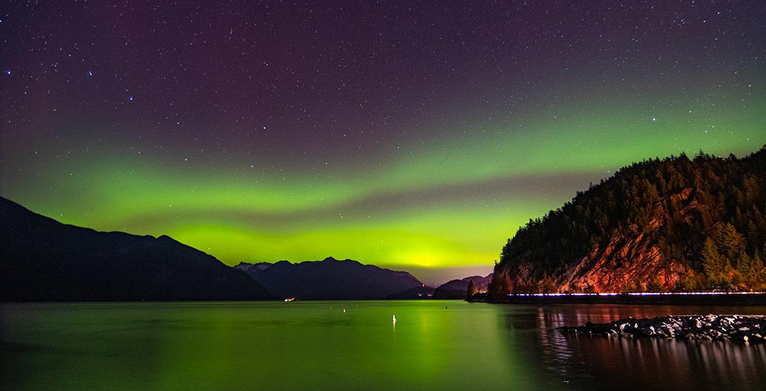 Spectacular aurora borealis lights up BC sky (PHOTOS, VIDEOS)
