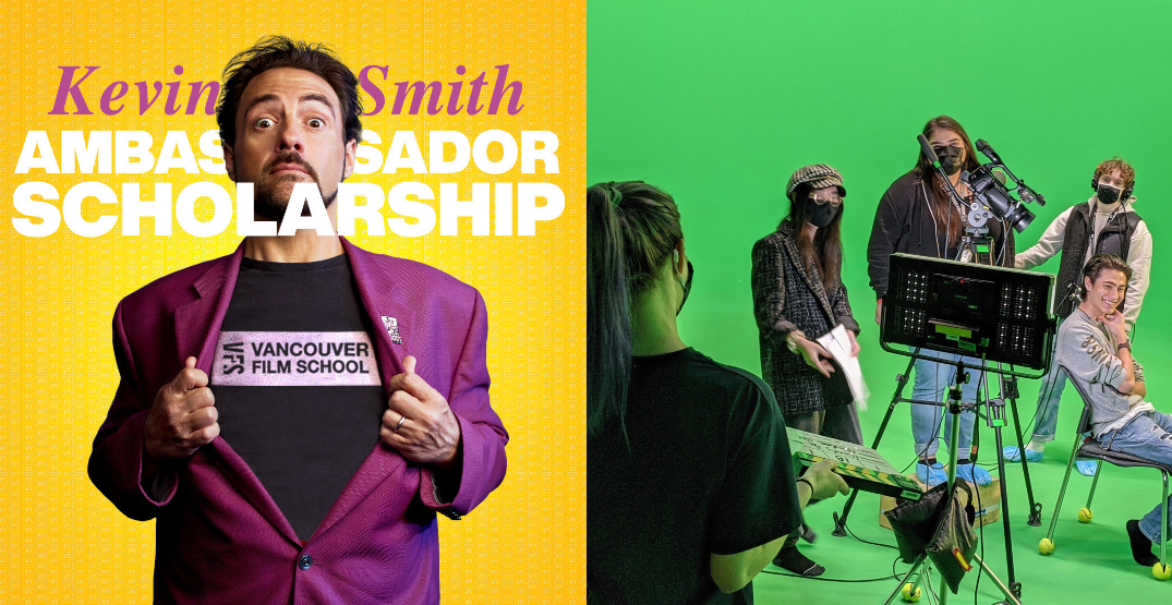 Vancouver Film School announced new Kevin Smith scholarships for 2022