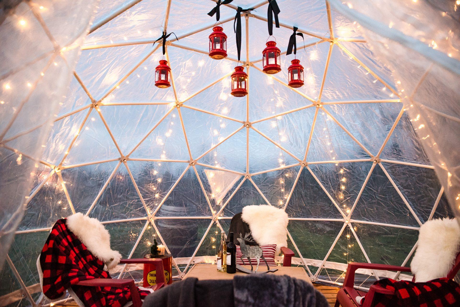 Abbotsford wine dome
