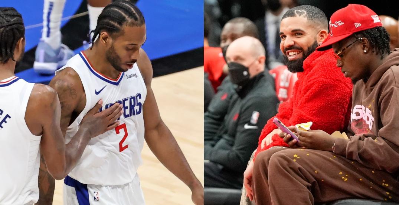 Drake says Kawhi Leonard misses Raptors fans and city of Toronto