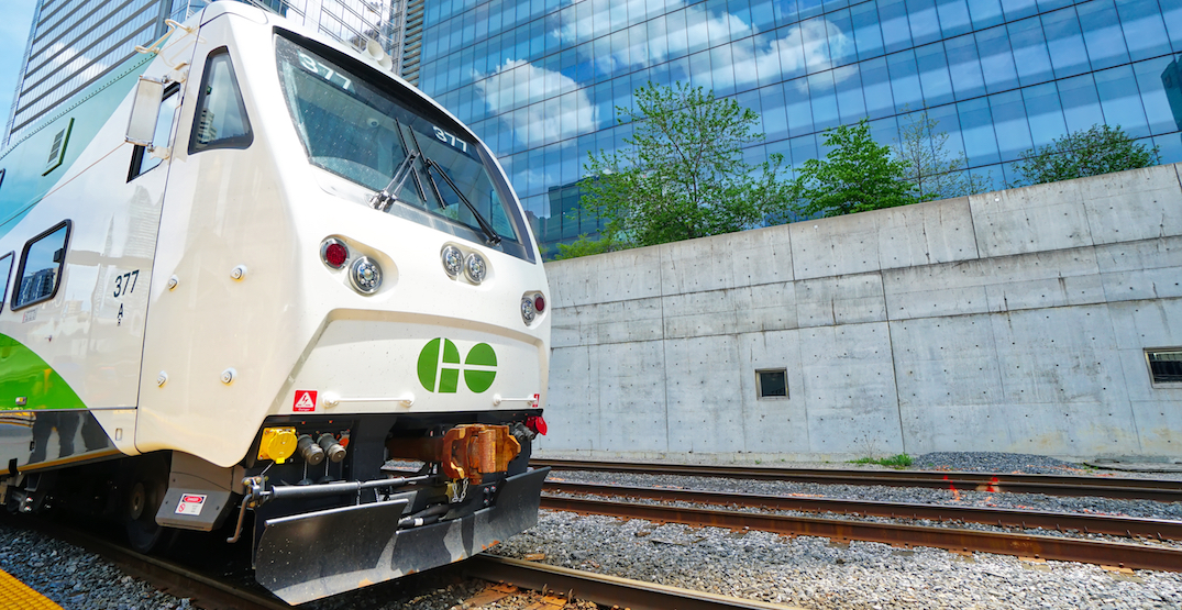 GO Train speeds are about to get way faster on one line