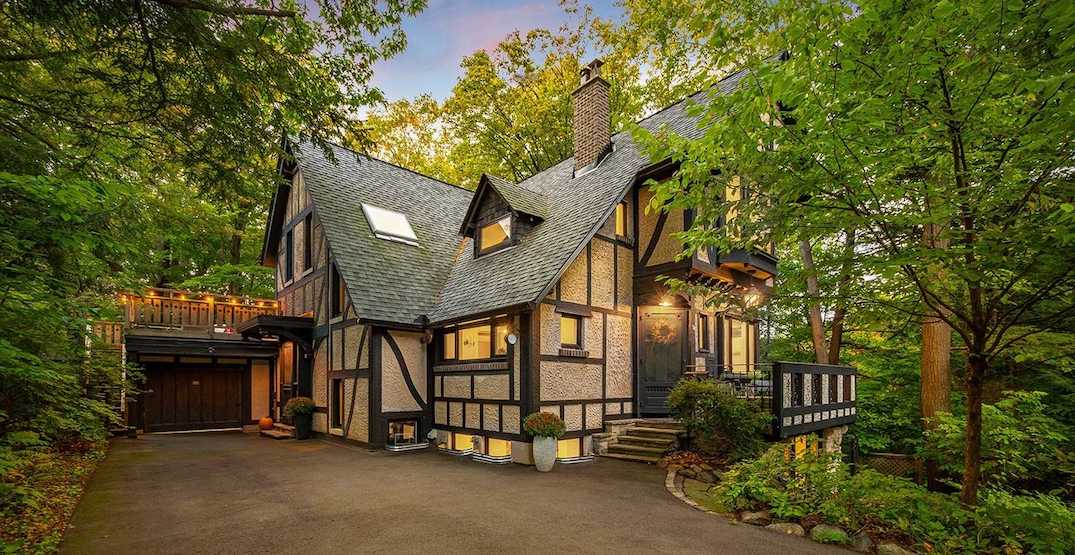 Secluded Toronto chalet just sold for $650,000 more than it did last year
