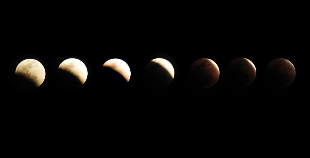 There will be a rare partial lunar eclipse in Canadian skies next month