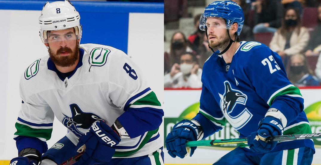 13 new players on the Vancouver Canucks this season