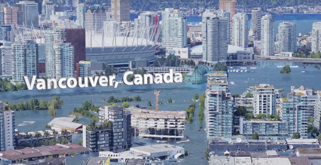 See how popular Vancouver spots could be impacted by rising sea levels