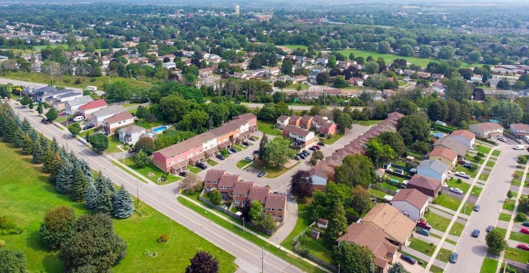 Townhouses in GTA suburbs are appreciating like crazy