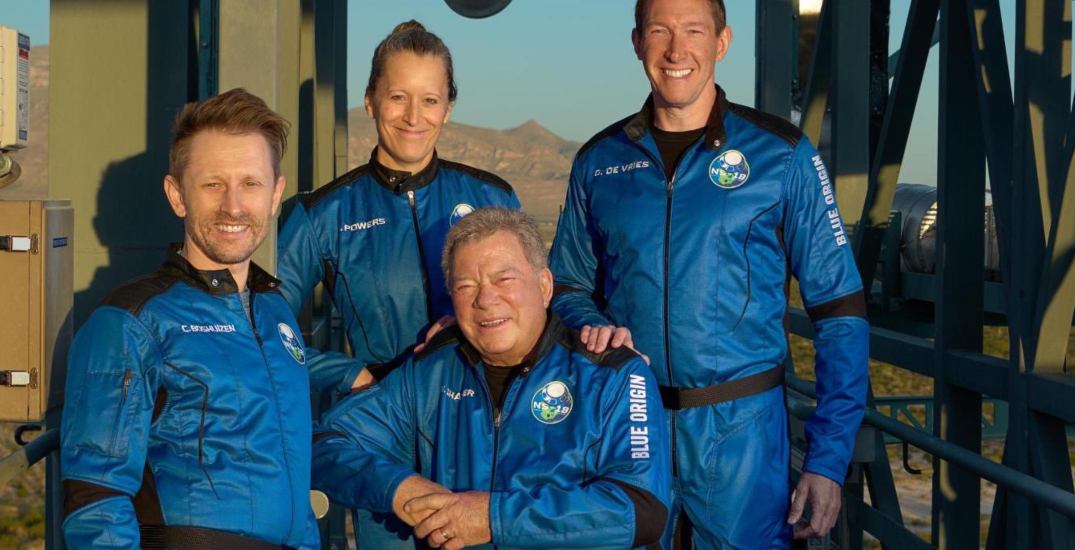 Canadian TV legend William Shatner becomes oldest person in space