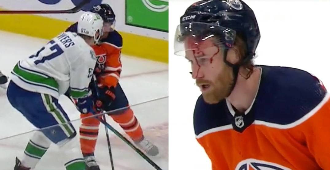 Tyler Myers blew up Duncan Keith and Canucks fans loved it
