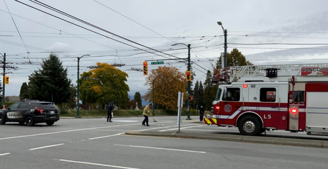 Vancouver Police search for driver connected to near fatal hit and run