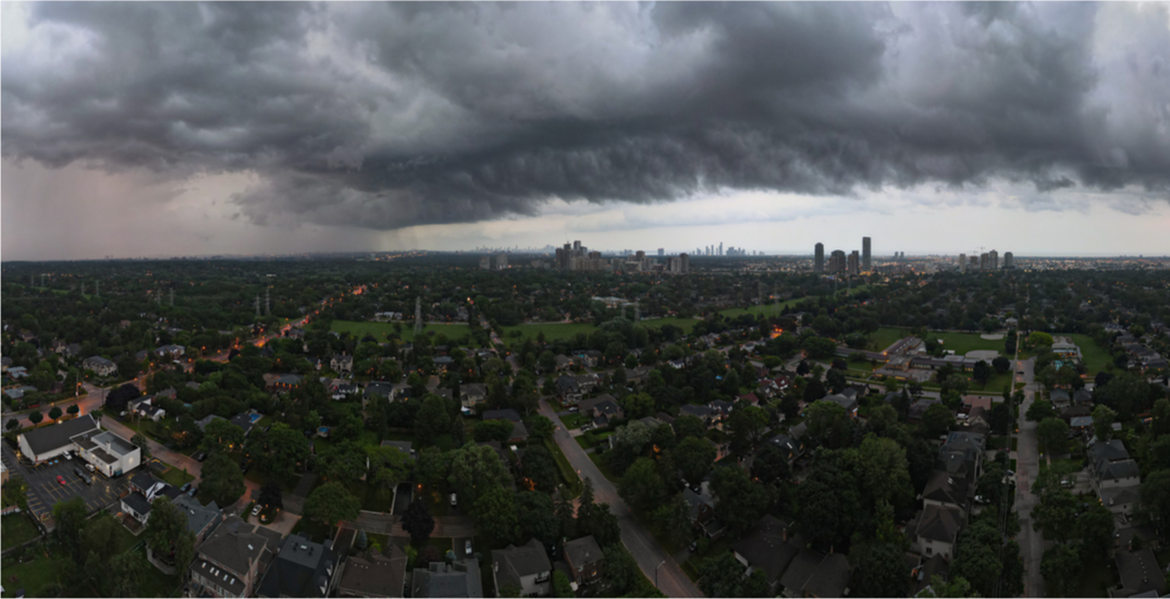 Environment Canada issues special weather statement for Toronto due to heavy rainfall