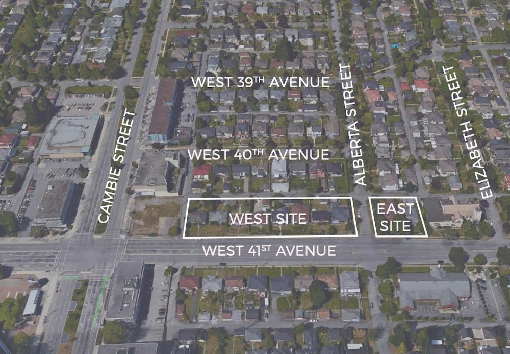 357-475 west 41st avenue 325-343 west 41st avenue vancouver rental housing