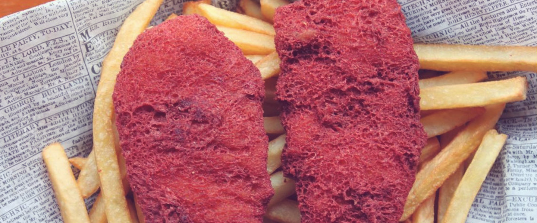 Red Velvet Wacky Cake