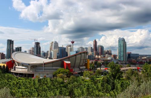 Saddledome via Shutterstock