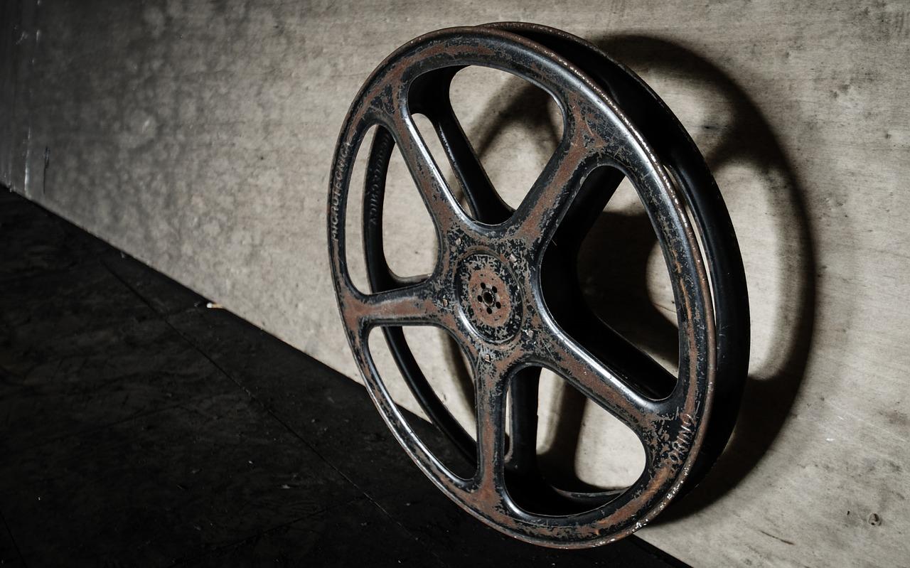 Image: film reel via Pixabay