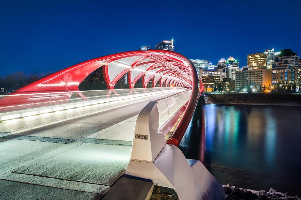 Calgary Peace Bridge - Michael Muraz