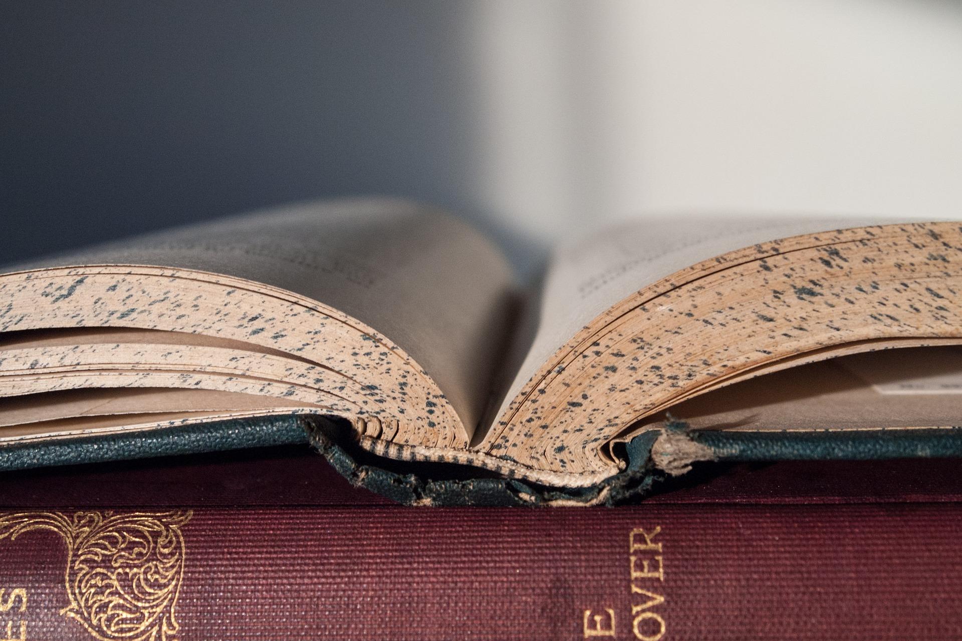 Image: books via Pixabay