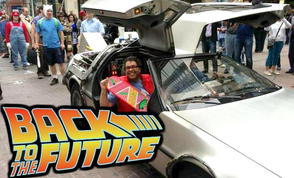 Calgary Mayor Nenshi Back To The Future