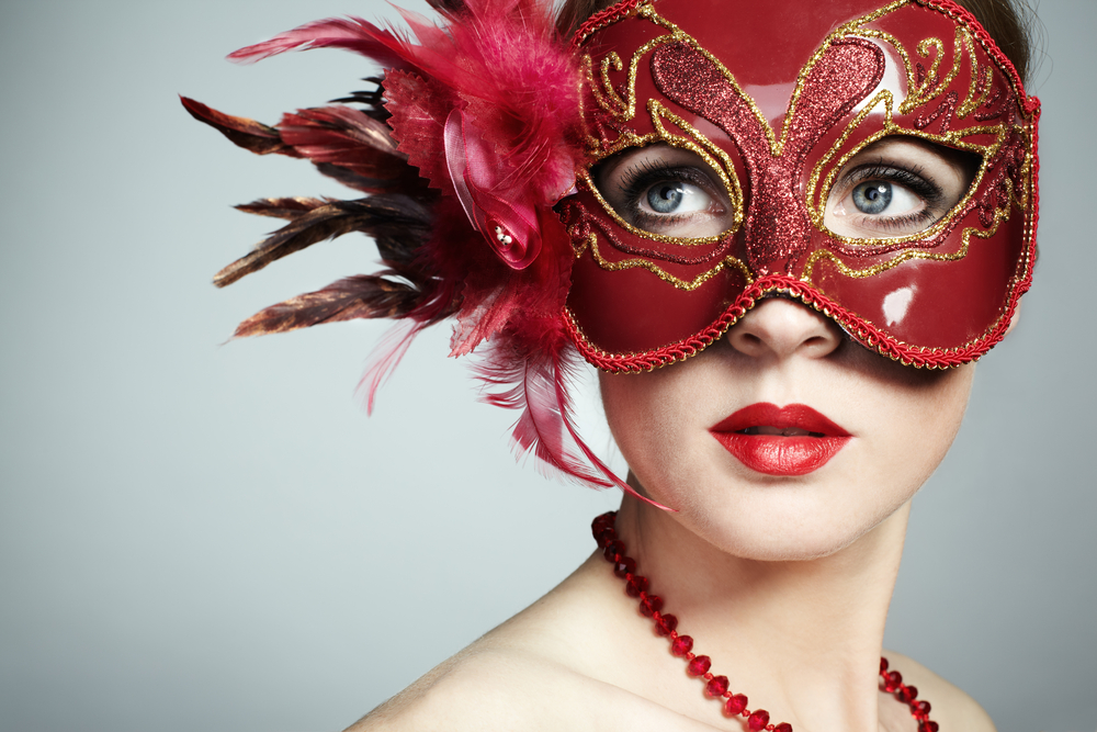 Image: Masquerade party via Shutterstock