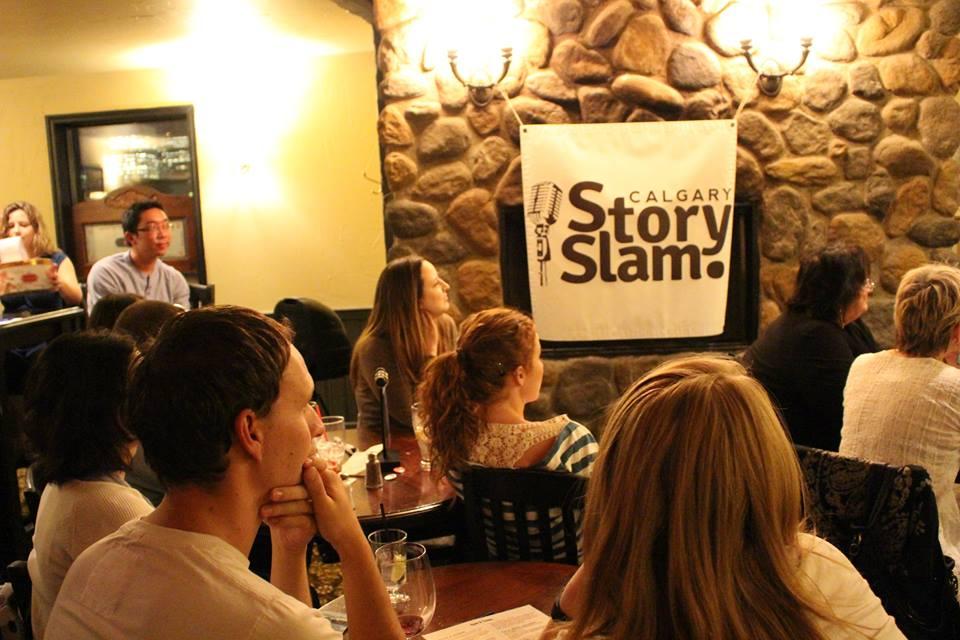 Image: Calgary Story Slam via Facebook