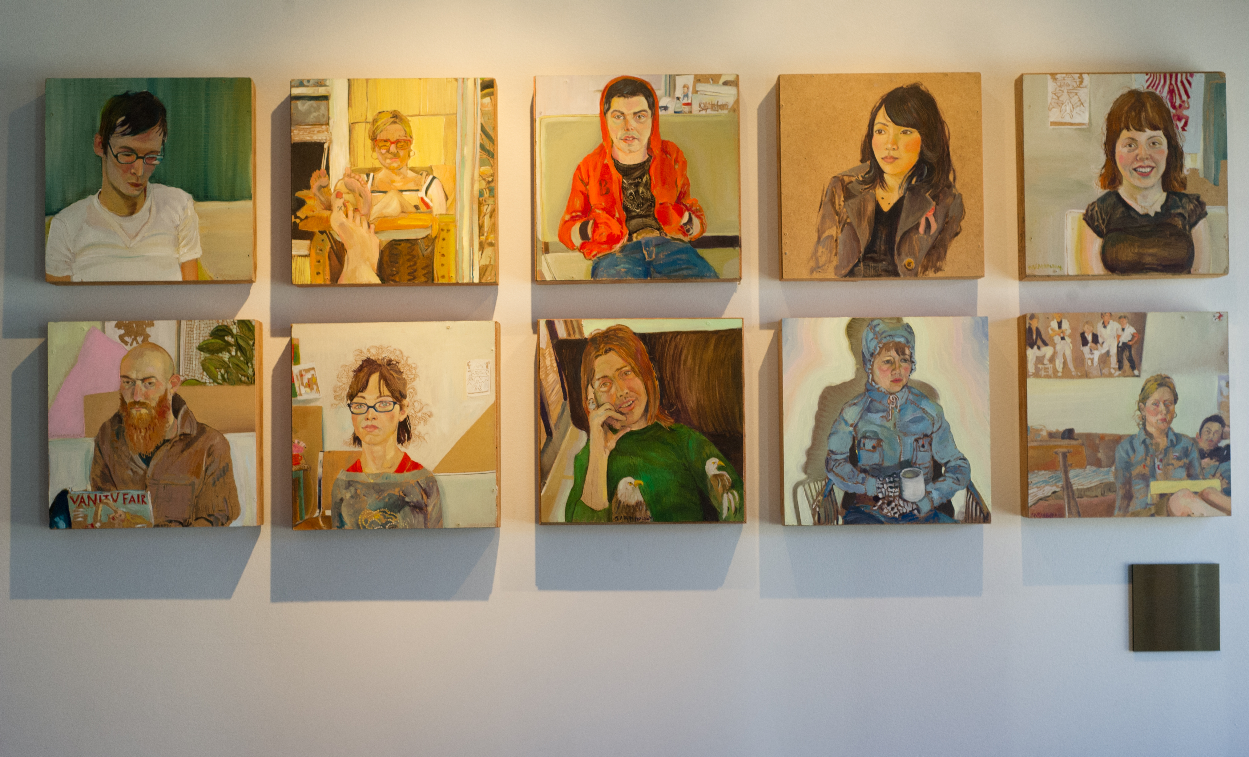 """""""Portraits of ACAD Artists 2004"""" by Sarah Jane Fougere"""