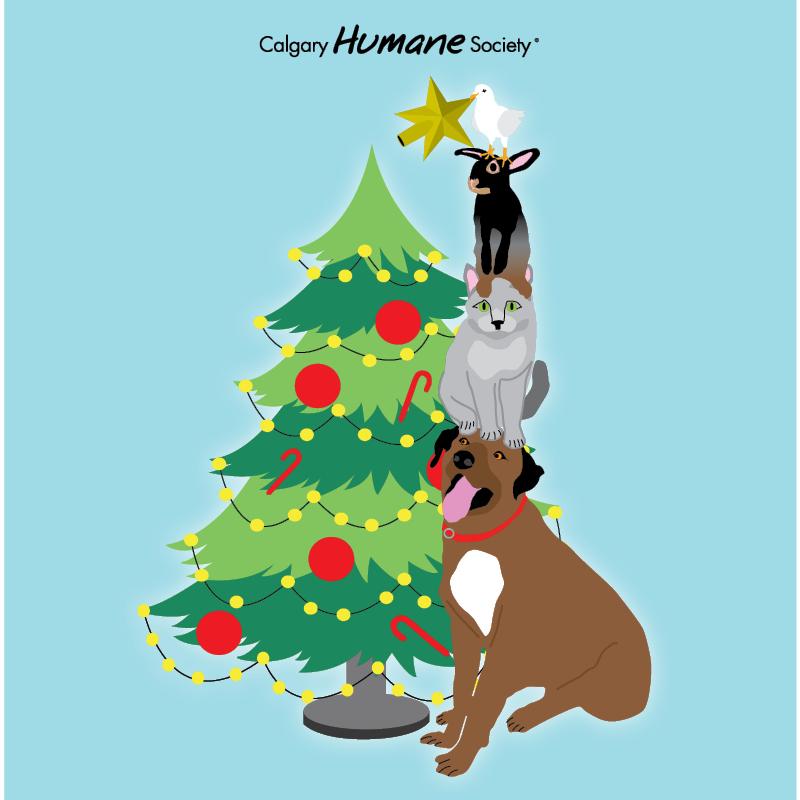 Calgary Humane Society Christmas Party