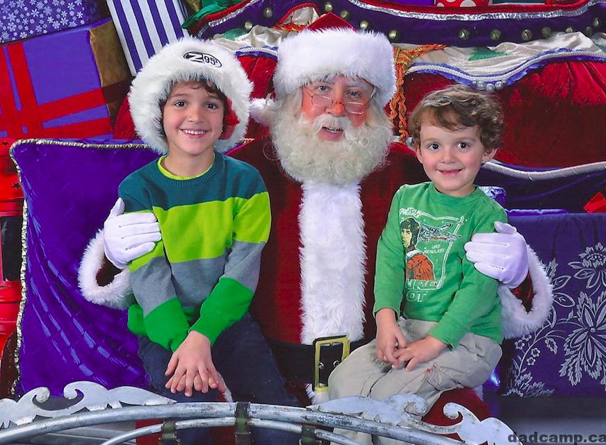 Santa at Chinook Mall