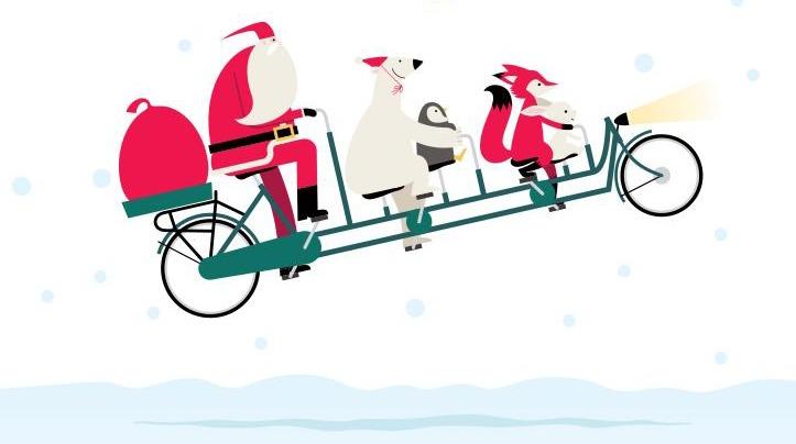 Santa at Southcentre Mall in Calgary